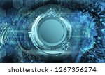3d rendering of abstract... | Shutterstock . vector #1267356274