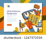 ui ux landing page class in...