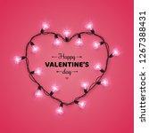 happy saint valentine's day...   Shutterstock .eps vector #1267388431
