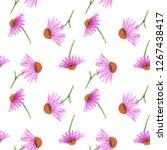 watercolor seamless pattern... | Shutterstock . vector #1267438417