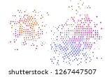 light multicolor  rainbow...   Shutterstock .eps vector #1267447507