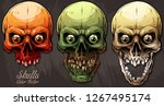 detailed graphic realistic cool ... | Shutterstock .eps vector #1267495174