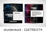 graphics brochures design... | Shutterstock .eps vector #1267582174