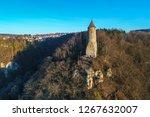 denturm lookout tower on a...   Shutterstock . vector #1267632007