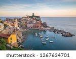 vernazza  cinque terre  italy | Shutterstock . vector #1267634701