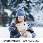 portrait of young beautiful...   Shutterstock . vector #1267639657