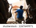 delhi  india   october 16 2018  ... | Shutterstock . vector #1267649971