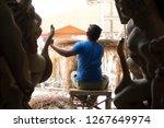 delhi  india   october 16 2018  ... | Shutterstock . vector #1267649974