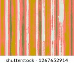 watercolor strips seamless...   Shutterstock .eps vector #1267652914