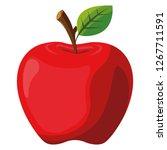 apple fruit design | Shutterstock .eps vector #1267711591