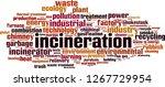 incineration word cloud concept.... | Shutterstock .eps vector #1267729954