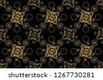 seamless oriental ornament in... | Shutterstock . vector #1267730281
