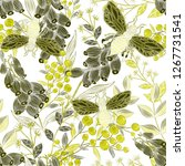 creative seamless pattern with... | Shutterstock . vector #1267731541