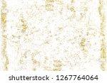 gold splashes texture. brush...   Shutterstock . vector #1267764064