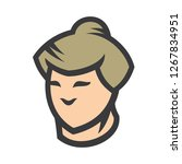 sumo men sign | Shutterstock .eps vector #1267834951