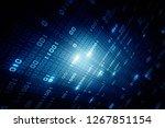 2d illustration abstract... | Shutterstock . vector #1267851154