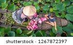top view of vietnamese boy... | Shutterstock . vector #1267872397