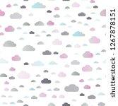 light silver  gray vector... | Shutterstock .eps vector #1267878151
