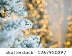 close up of a christmas tree... | Shutterstock . vector #1267920397
