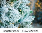 close up of a christmas tree... | Shutterstock . vector #1267920421
