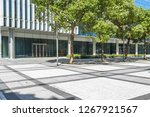 modern buildings and empty... | Shutterstock . vector #1267921567