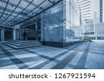 modern office buildings in... | Shutterstock . vector #1267921594