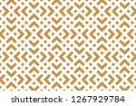 abstract geometric pattern. a... | Shutterstock .eps vector #1267929784