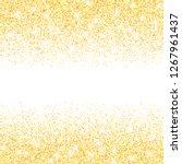 vector gold glitter confetti... | Shutterstock .eps vector #1267961437