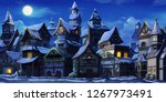 Small Fairy Tale Town Winter...