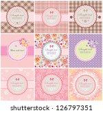 Beautiful Greeting Labels
