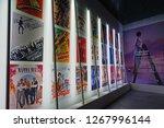 paris  france  23 dec 2018 ... | Shutterstock . vector #1267996144