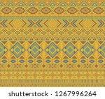navajo american indian pattern... | Shutterstock .eps vector #1267996264