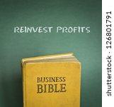 business bible commandment  ... | Shutterstock . vector #126801791