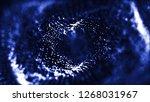 3d abstract technology... | Shutterstock . vector #1268031967