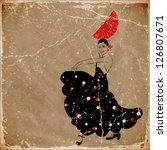 Vector Illustration Of Flamenco ...