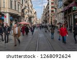 istanbul  turkey   november 6... | Shutterstock . vector #1268092624