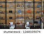 nassau bahamas circa   june... | Shutterstock . vector #1268105074