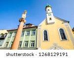 old town of murnau   bavaria   Shutterstock . vector #1268129191
