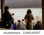 kleinfeltersville  pa  usa  ... | Shutterstock . vector #1268143207