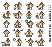 expression   Shutterstock .eps vector #126816704