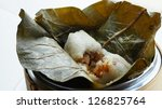 dim sum   sticky rice with... | Shutterstock . vector #126825764