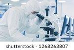 in laboratory scientists in...   Shutterstock . vector #1268263807