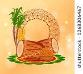illustration of punjabi... | Shutterstock .eps vector #1268306467