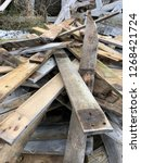 reclaimed salvage boards from... | Shutterstock . vector #1268421724