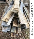 reclaimed salvage boards from... | Shutterstock . vector #1268421727