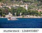 brac  croatia   oct 30  2018 ... | Shutterstock . vector #1268453887