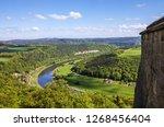 saxon switzerland landscape ... | Shutterstock . vector #1268456404