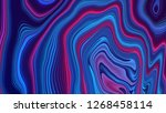 abstract red blue gradient... | Shutterstock . vector #1268458114