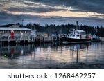 Lobster Boats Moored At Lobste...