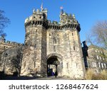 Small photo of Lancaster Castle is a medieval castle in Lancaster in the English county of Lancashire. Its early history is unclear, but may have been founded in the 11th century on the site of a Roman fort.